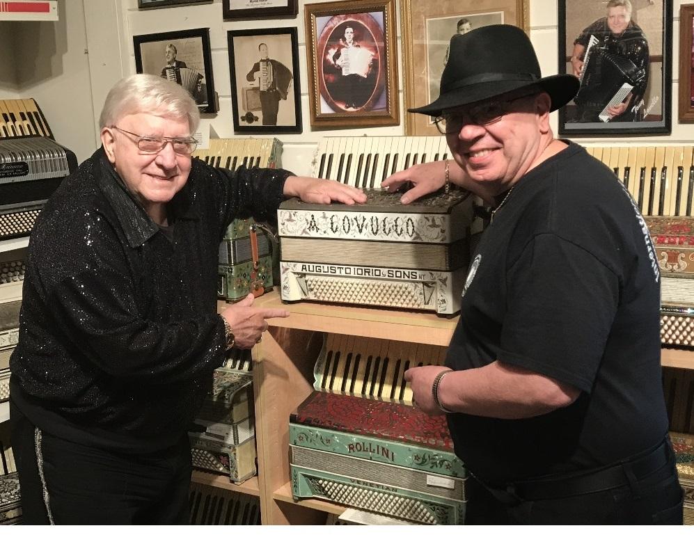 Tony Lovello and Papa Joe (2017)