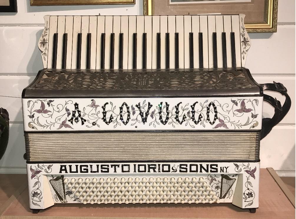 Tony Lovello's Father's Iorio Accordion